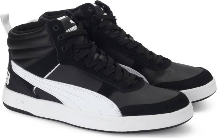 01b2c361364e Puma Rebound Street v2 Sneakers For Men - Buy Puma Black-Puma White ...