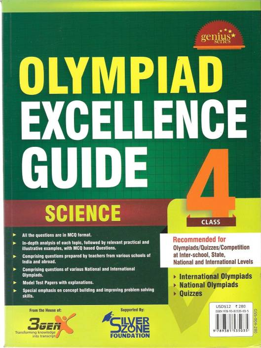 Olympiad Excellence Guide - Science (Class - 4): Buy