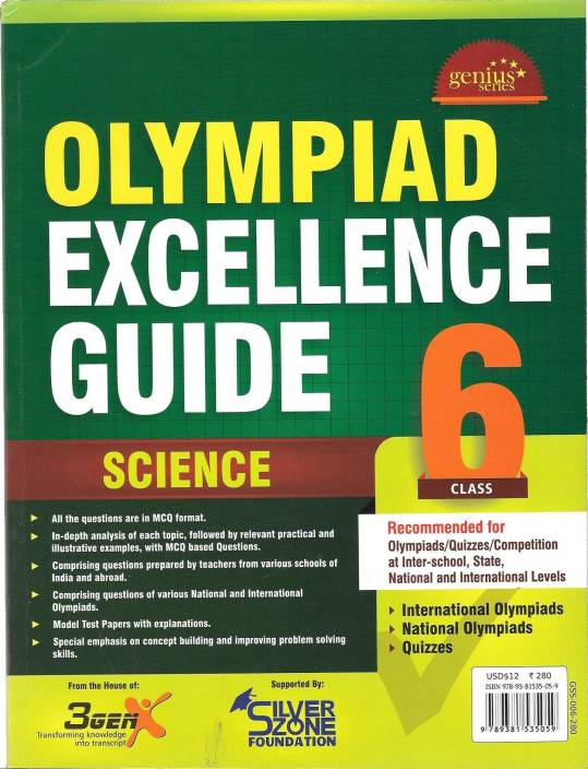 Olympiad Excellence Guide - Science (Class - 6) 1st Edition: Buy