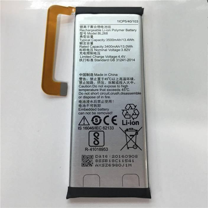buy online ae99e c876f SAFA Mobile Battery For Lenovo ZUK Z2 Plus PA500016IN - 3500mAh