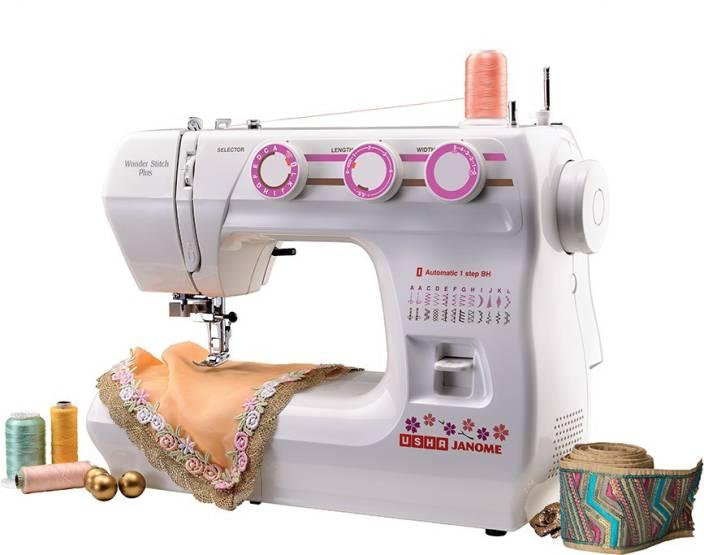 Usha Wonder Stitch Plus Electric Sewing Machine Price In India Buy Unique Usha Stapler Sewing Machine
