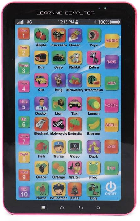 Kids Learning Tablet >> Emob Multimedia Learning Tablet Computer With Music And Sound Effect