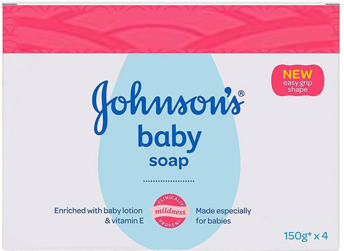 Johnson's Baby Soap (with New Easy Grip Shape) (Buy 3 Get 1 Free)