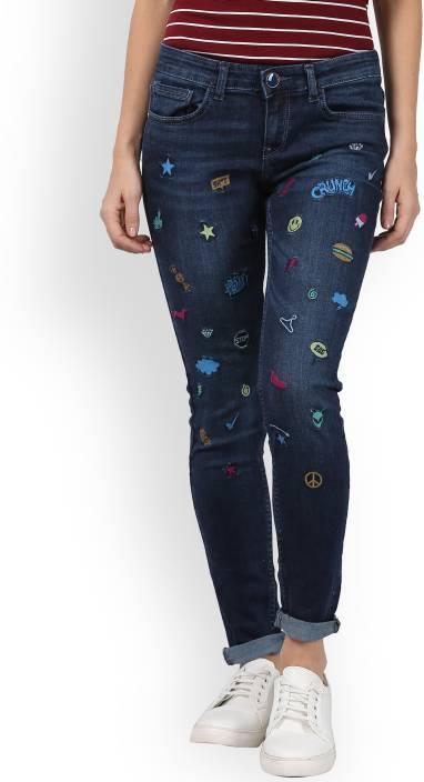 Tokyo Talkies Slim Women's Blue Jeans