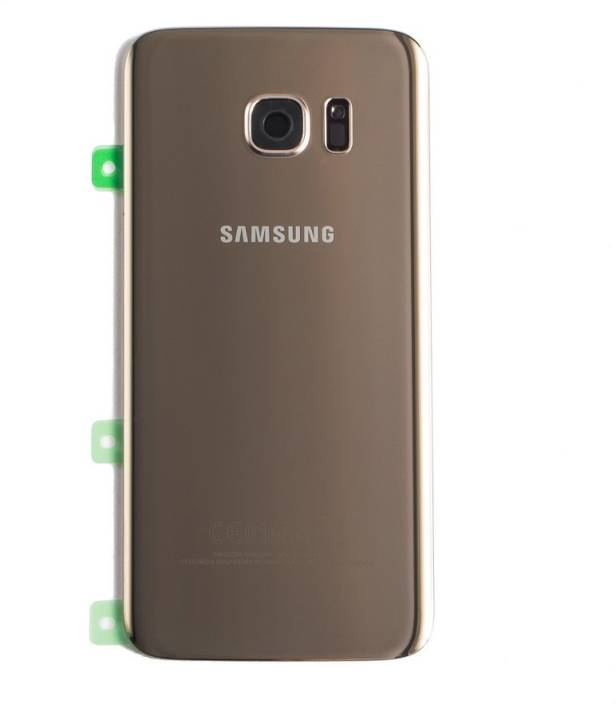 the latest 34e07 0a635 Spares4ever Samsung S7 Edge Back Panel Gold Back Panel