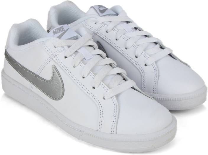 Nike WMNS NIKE COURT ROYALE Tennis Shoes For Women - Buy WHITE ... aa36ea273