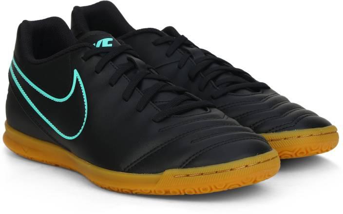 7781a4a6c5b Nike TIEMPO RIO III IC Football Shoes For Men - Buy BLACK BLACK ...