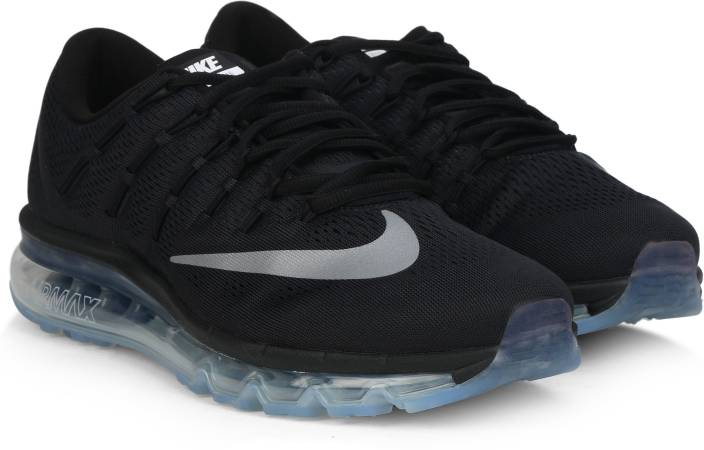 on sale 05045 0b86d Nike AIR MAX 2016 Running Shoes For Men (Black)