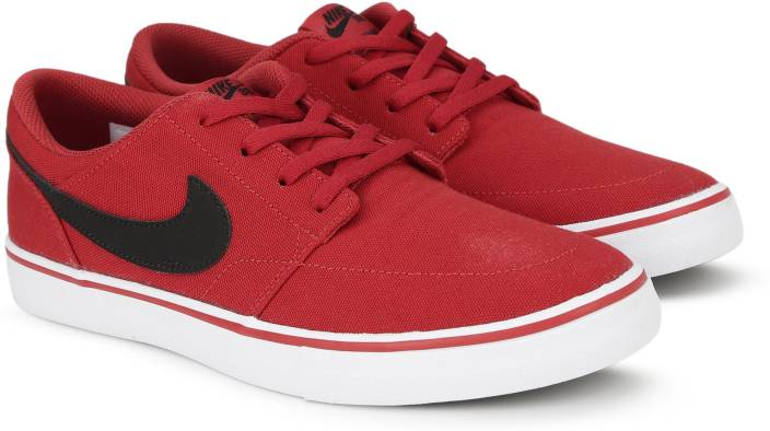 828f80f74793f Nike SB PORTMORE II SOLAR CNVS Sneakers For Men - Buy UNIVERSITY RED ...