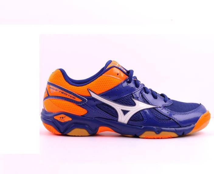 76c1ea66aaeb Mizuno WAVE TWISTER 4 ( UK 10 - US 11 ) Badminton Shoes For Men (Multicolor)
