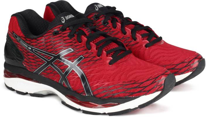 01cd0a673329ed Asics GEL-NIMBUS 18 RUNNING For Men - Buy FRYRD/BLK/WH Color Asics ...