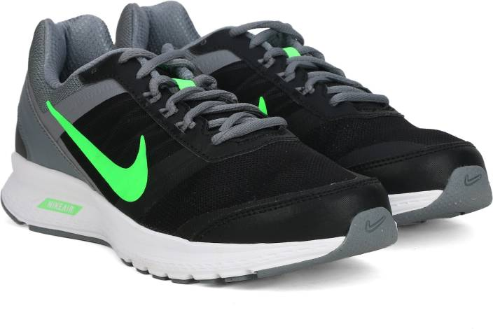 95a9b0a4c26b Nike AIR RELENTLESS 5 MSL Running Shoes For Men - Buy Black Green ...