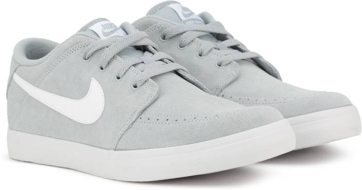 f6a504249f134 Nike SUKETO 2 LEATHER Sneakers For Men - Buy Light Grey White Color ...