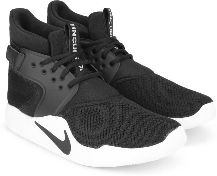 7e1392ae0dbd Nike INCURSION MID Sneakers For Men - Buy BLACK BLACK-WHITE Color ...