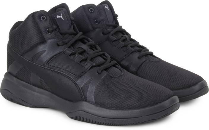 Puma Rebound Street evo Sneakers For Men - Buy Puma Black-Puma White ... aea853279