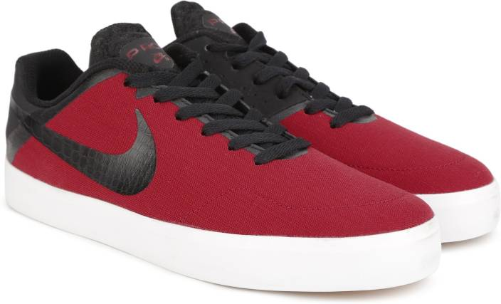 the latest 7c647 ac557 Nike SB PAUL RODRIGUEZ CTD LR CNVS Sneakers For Men (Red)