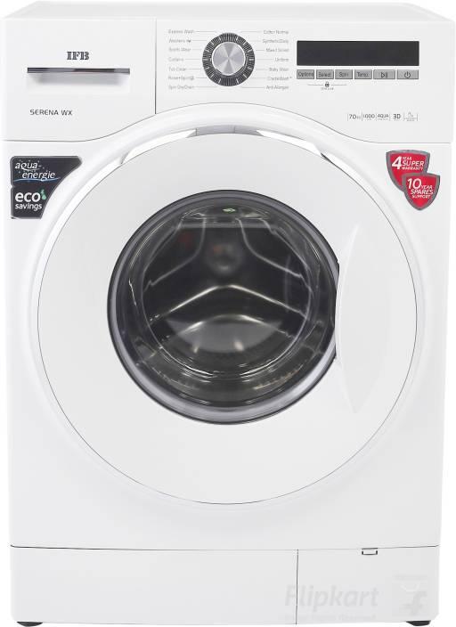 IFB 7 kg Fully Automatic Front Load Washing Machine White