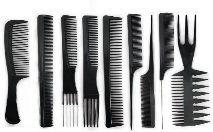 759b1ee4d684a Majik Professional Parlour & Salon Use Hair Comb Set For Men & Women