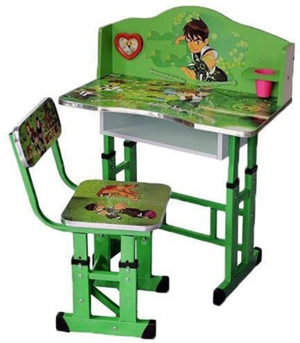Delicieux PP Infinity STUDY TABLE U0026 CHAIR FOR KIDS Metal Desk Chair (Finish Color    Multi Color)