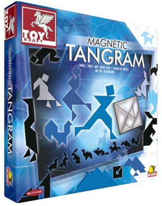 Toy Kraft Magnetic Tangram