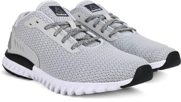 03162fc34d40 REEBOK WAVE RIDE Running Shoes For Men - Buy GREY DUST SLVR BLK WHT ...
