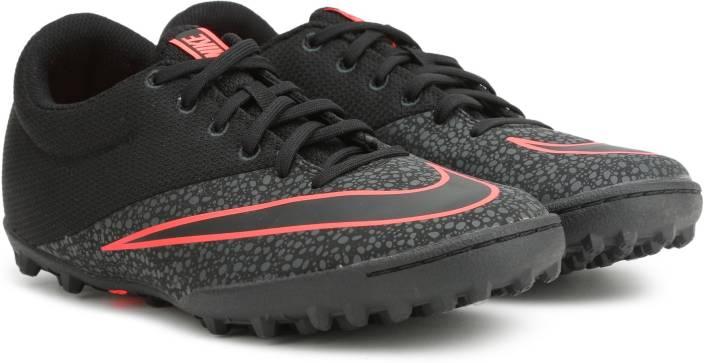 premium selection 55a40 82660 Nike MERCURIALX PRO TF Football Shoes For Men (Black)