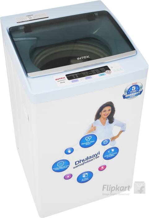 Intex 6 kg Fully Automatic Top Load Washing Machine