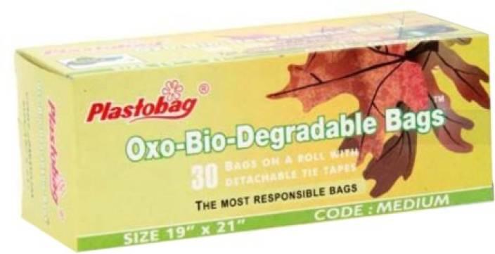 Plastobag Oxo - Biodegradable Medium Garbage Bag