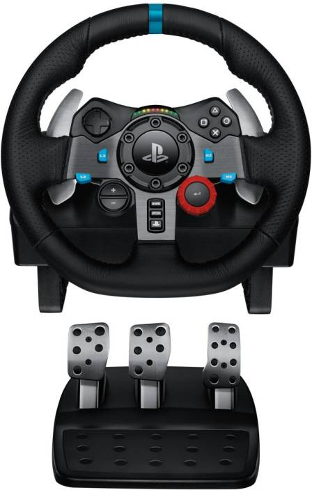 d5c427eeeed Logitech G29 Racing Wheel Joystick (Black, For PS4, PS3, PC)