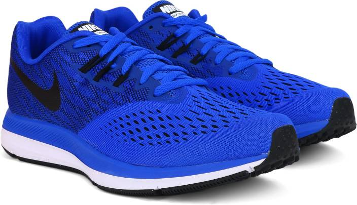 5ca6d733505 Nike ZOOM WINFLO 4 Running Shoes For Men - Buy RACER BLUE BLACK ...