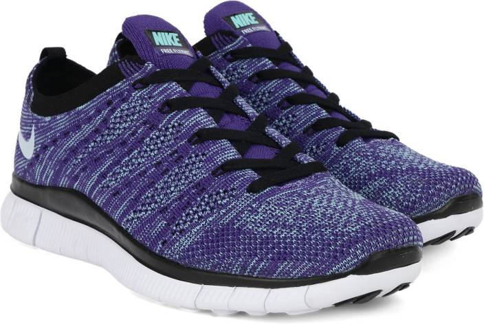 d5b72f5562 Nike FREE 5.0 FLYKNIT Running Shoes For Men - Buy COURT PURPLE/WHITE ...