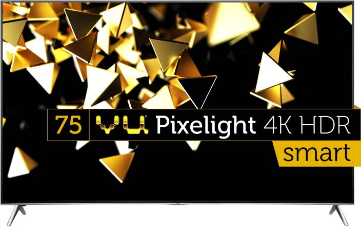 Vu 190cm (75 inch) Ultra HD (4K) LED Smart TV