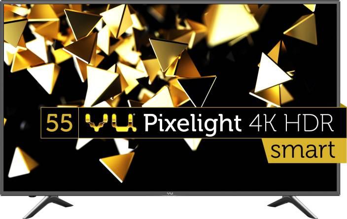 Vu 140cm (55 inch) Ultra HD (4K) LED Smart TV