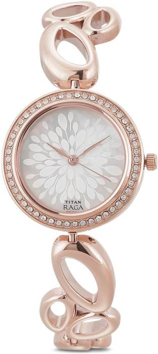 9e0e4ccaaa2 Titan 2539WM01 Raga Watch - For Women - Buy Titan 2539WM01 Raga Watch - For  Women 2539WM01 Online at Best Prices in India