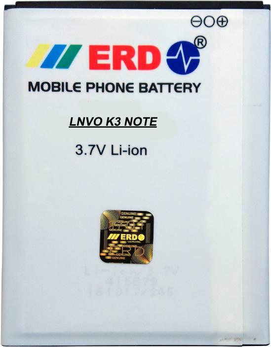 c4b0cab11 ERD Mobile Battery For Lenovo K3 Note Price in India - Buy ERD Mobile  Battery For Lenovo K3 Note online at Flipkart.com