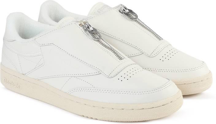 107bc880b0e60 REEBOK CLUB C 85 ZIP Tennis Shoes For Women - Buy CHALK SANDSTONE ...