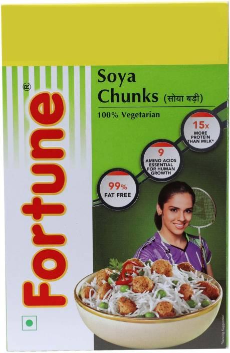 Fortune Soya Chunks Price in India - Buy Fortune Soya Chunks
