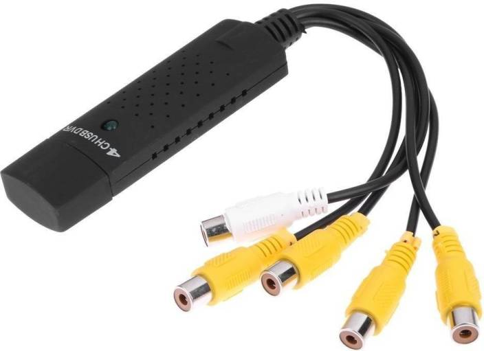 LipiWorld TV-out Cable 4 Channel USB 2 0 DVR Video Audio