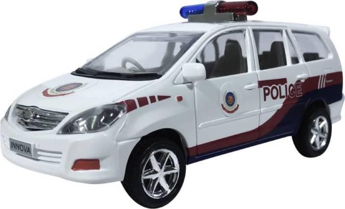Am Enterprises Innova Delh Police Car For Kids Innova Delh Police