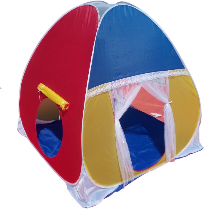Homecute Foldable Kids Play Tent House (Multicolor)  sc 1 st  Flipkart & Homecute Foldable Kids Play Tent House - Foldable Kids Play Tent ...