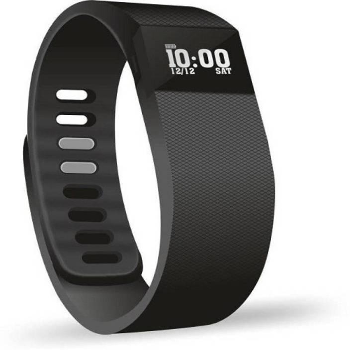 techdeal Running Plus Fitness Smart Activity Tracker Band (Black)