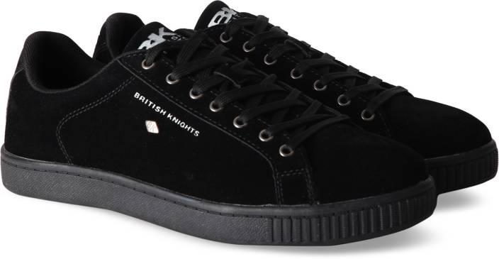 ee9be62e7ff3 British Knights DUKE Sneakers For Men - Buy BLACK BLACK Color ...