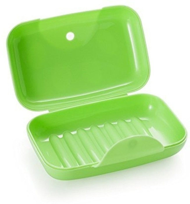 Plastic Wash Soap Dish Double Soap Holder Storage Soap Box Bathroom Case