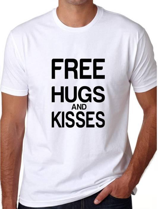 Grafytees Printed Men's & Women's Round Neck White T-Shirt