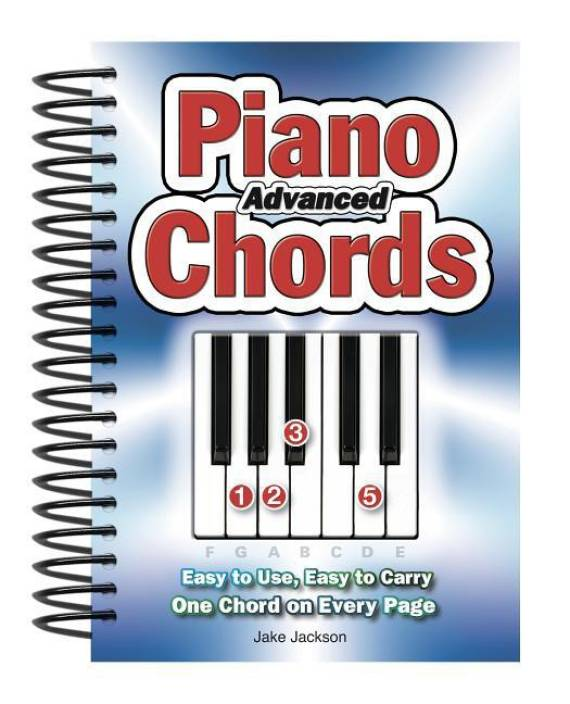 Advanced Piano Chords: Easy to Use, Easy to Carry, One Chord on ...