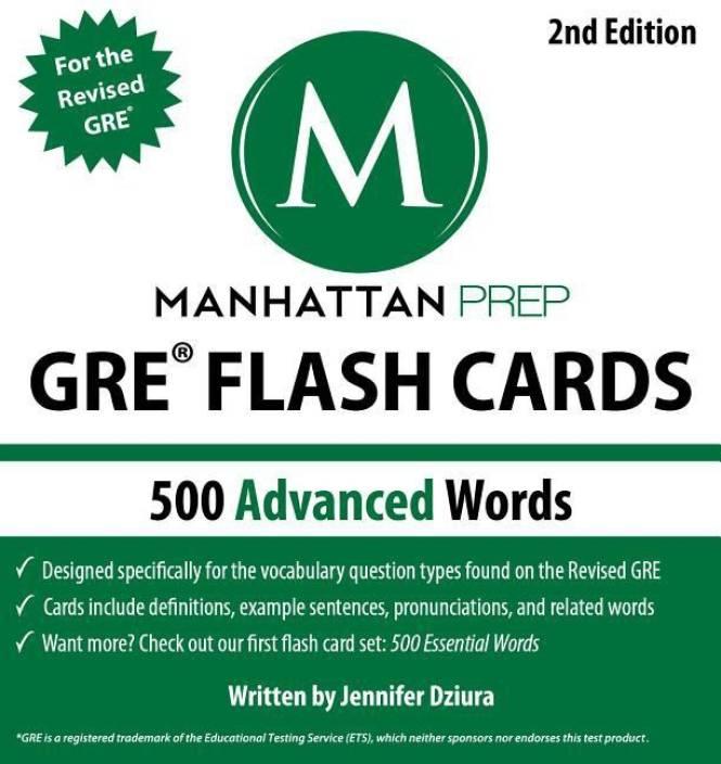 Manhattan Prep GRE Flash Cards