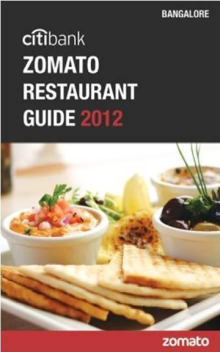 Citibank Zomato Restaurant Guide 2012: Bangalore