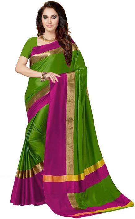 Ishin Printed Bollywood Poly Silk Saree