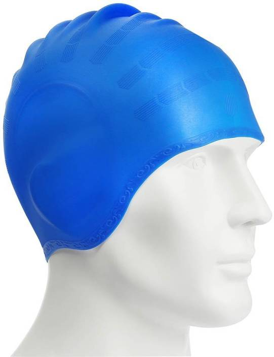 3cc9516769d Xerobic Swim Cap Non-toxic Tasteless Durable High Swim Caps Elasticity  Waterproof Dry hair Oversized Silicone Swimming Cap Unisex Adult Curly Hair  Long Hair ...