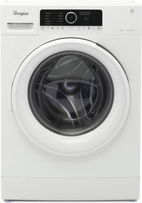 5817dd283f31 Whirlpool 7 kg Fully Automatic Front Load Washing Machine White ...